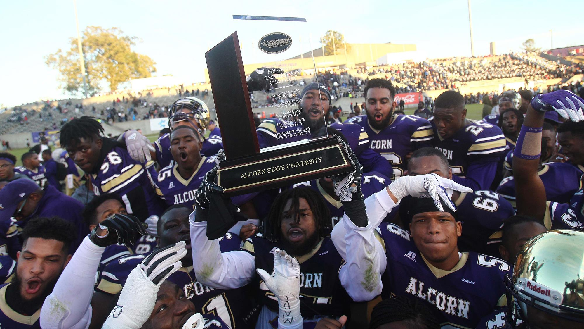 Alcorn Captures Fifth Consecutive SWAC East Division Title, Clinches