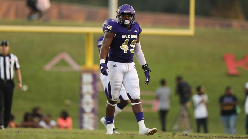 Muhammad Wins SWAC Defensive Player of the Week